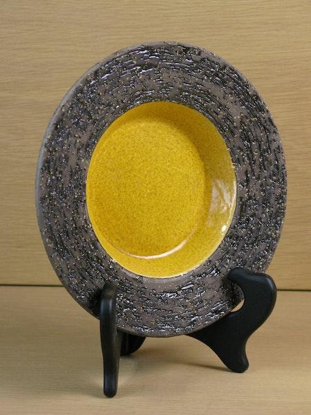 yellow ashtray 4069b