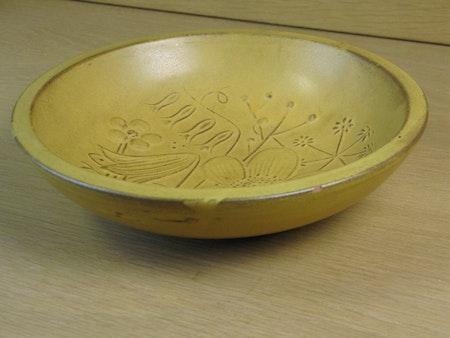 yellow bowl 132