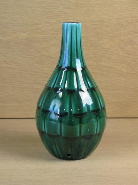 dark green capri lampstand 646