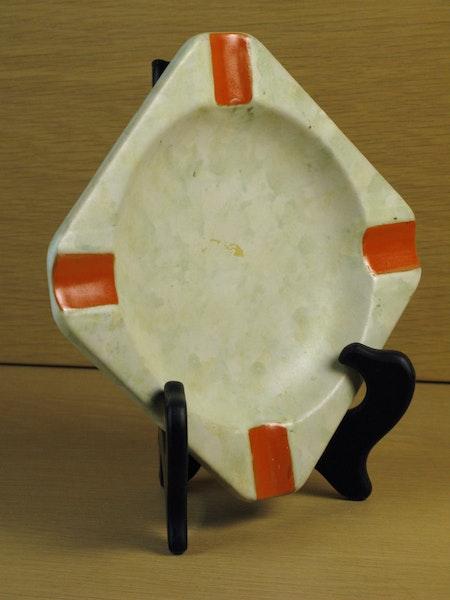 greyish/orange ashtray 1