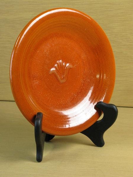 orange small plate 2144