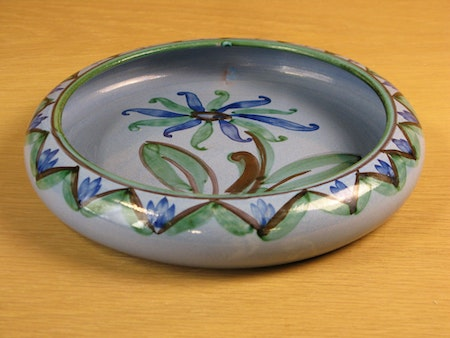 blue flower bowl 129d
