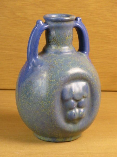bluegreen vase 1932