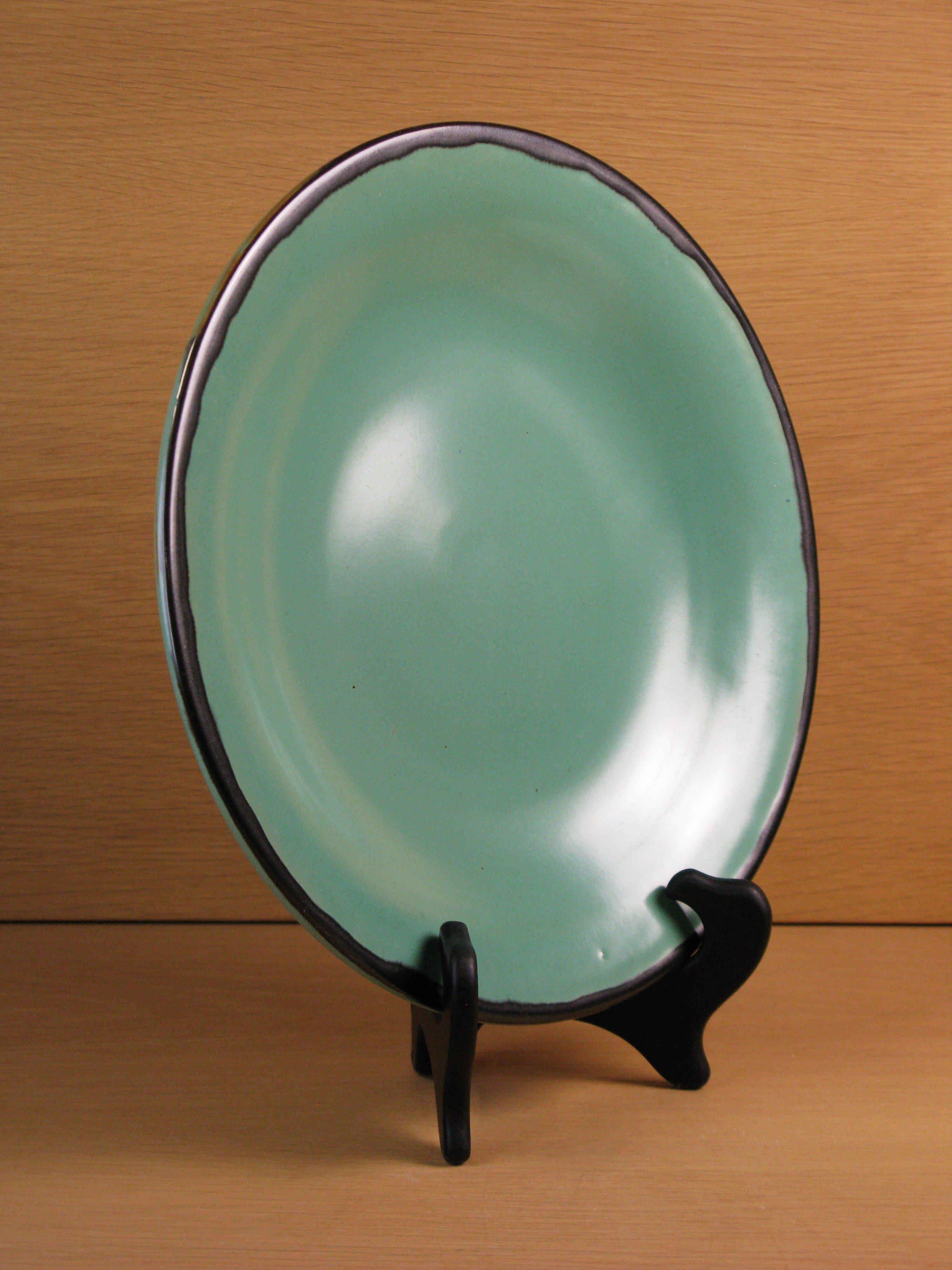 green/black plate 167