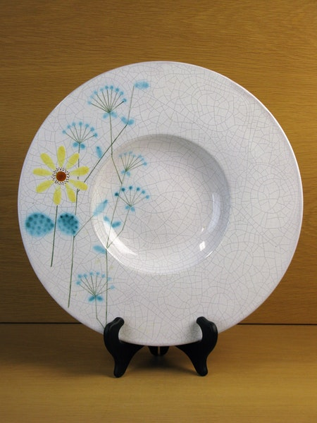 craquelure flower plate 3