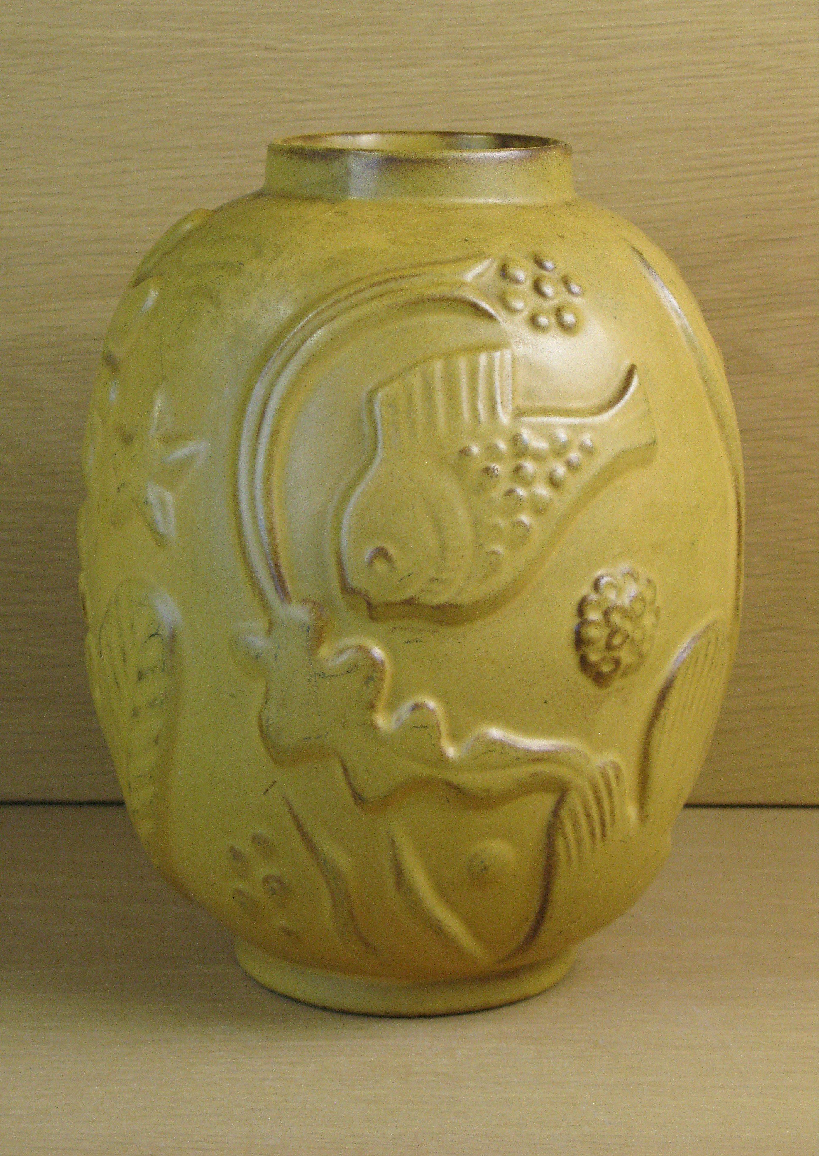 brownish vase 221