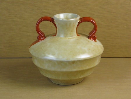 yellowish/orange vase 2761/2