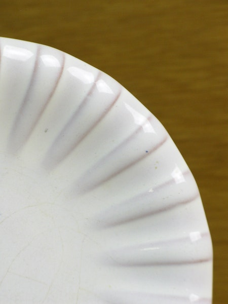 white small plate 22