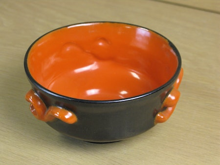 black/orange s:t eriks bowl 50..