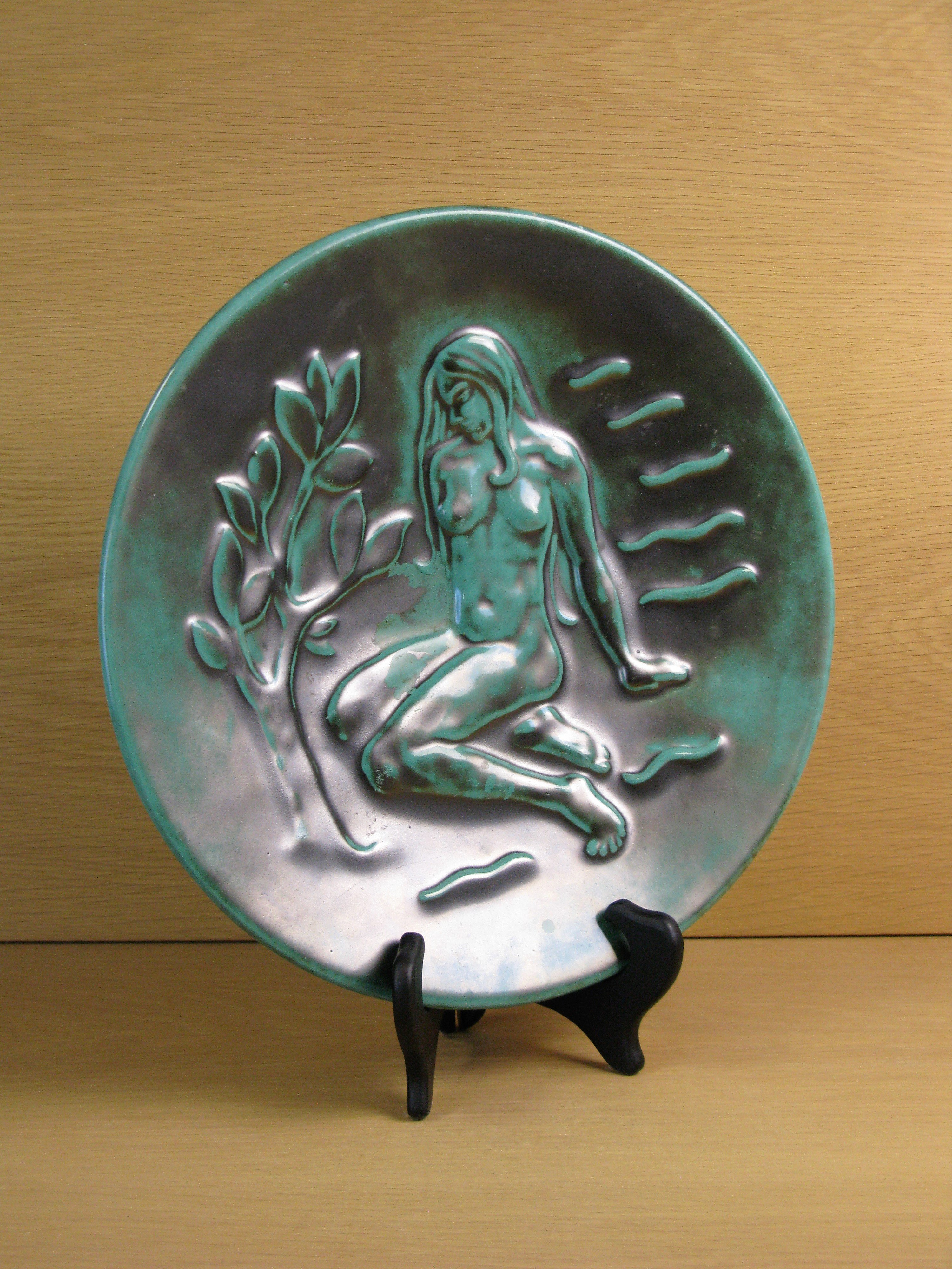 S:t eriks green wall plate 930