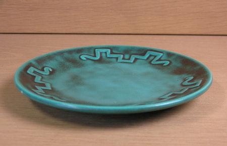 green juno small plate