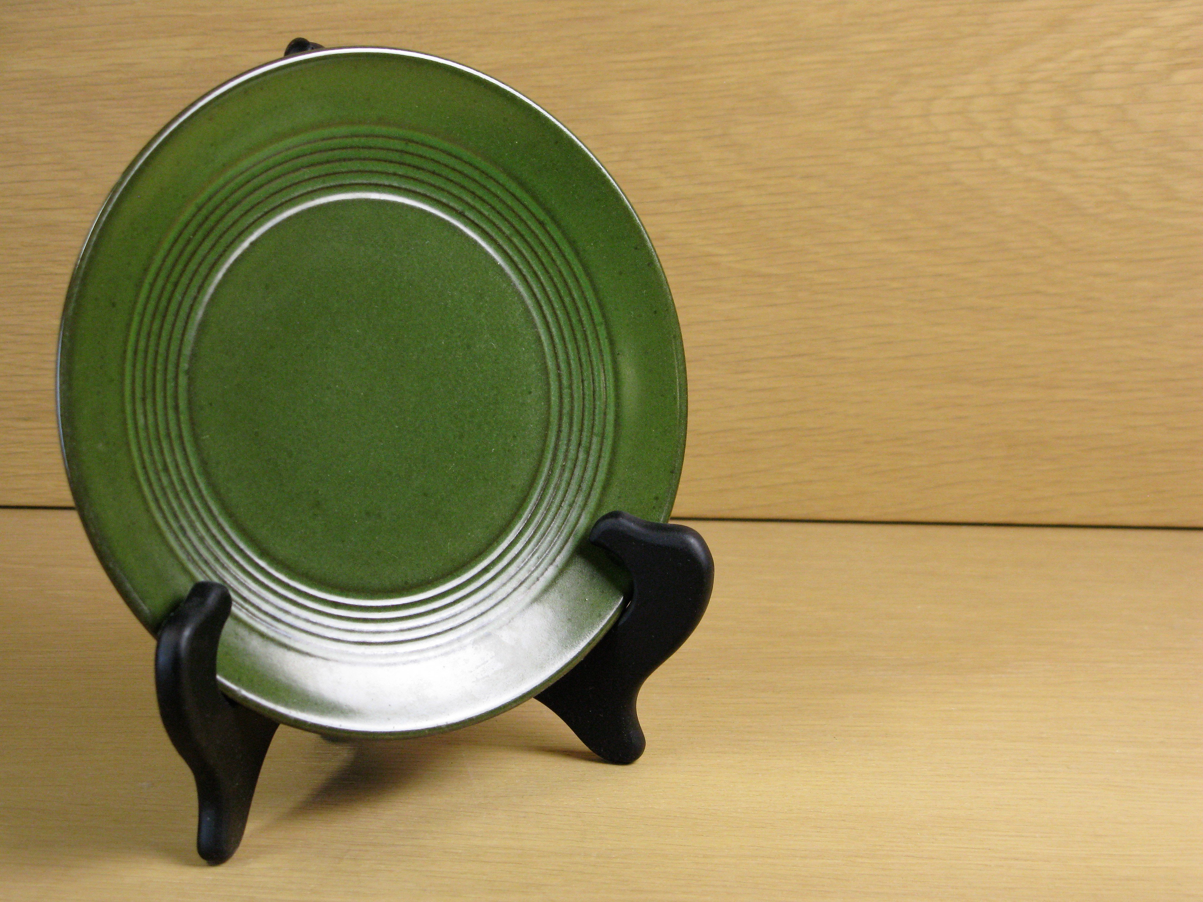 green small plate 43130/31