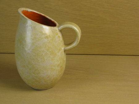 yellowish/orange pitcher 7