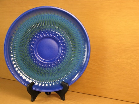 blue/greenish luna plate 8054