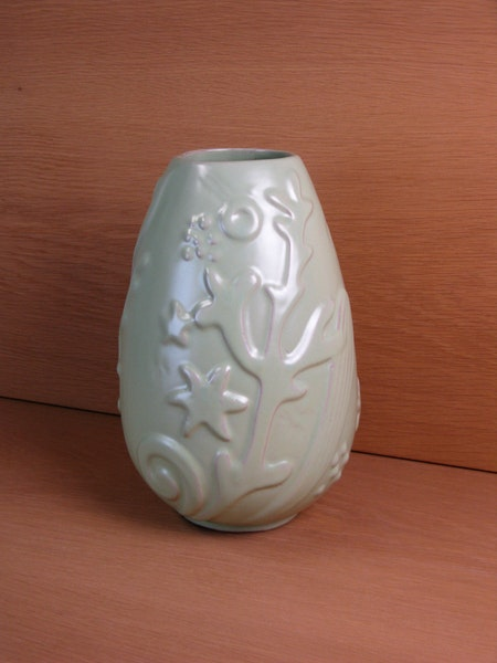 light green vase 270