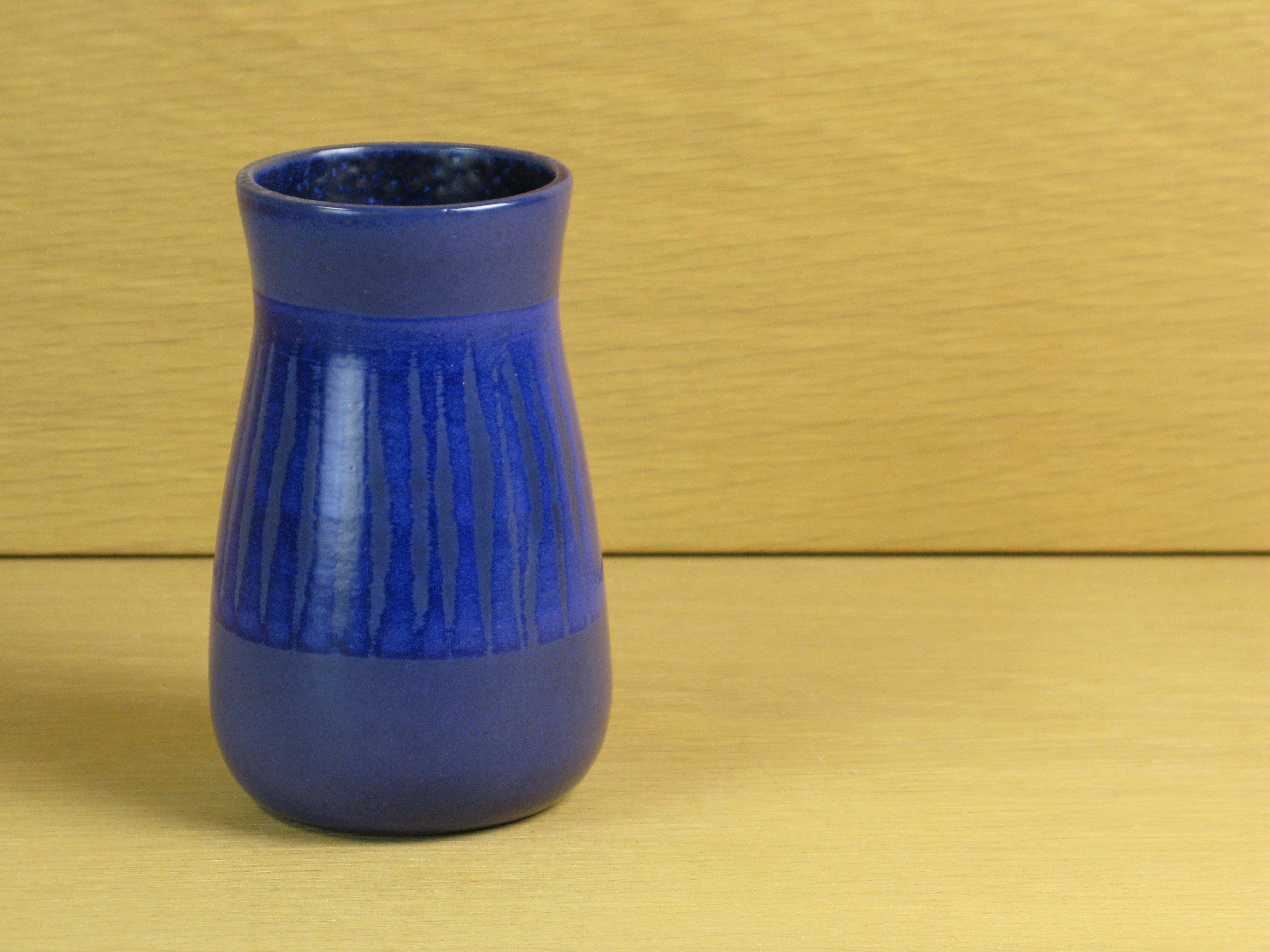 blue sippa vase 4553