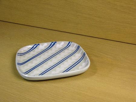 grey/blue small plate fyris 15