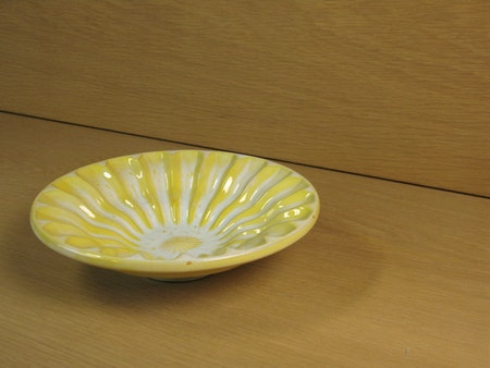 yellow bowl 134