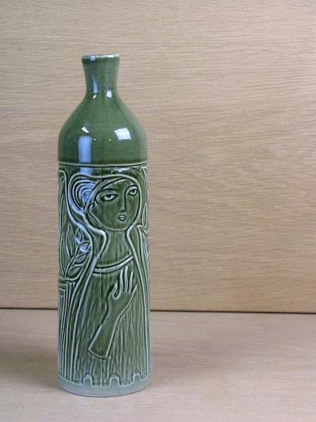 green lilette vase 4480