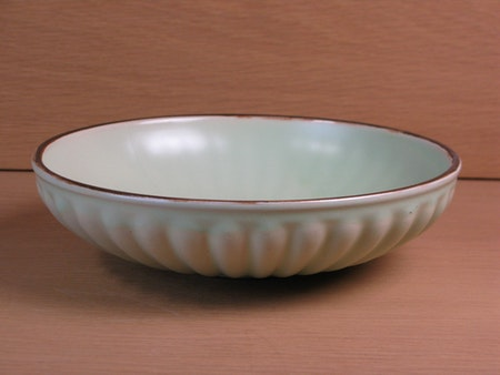 Light green/brown bowl 5