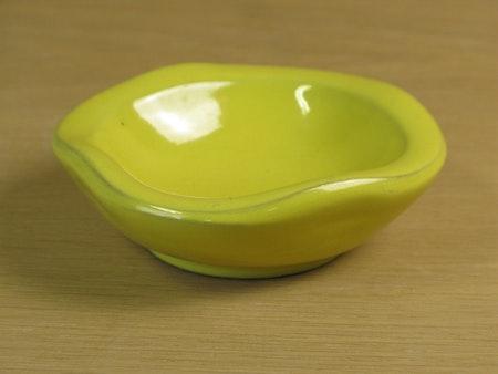 yellow ashtray 57