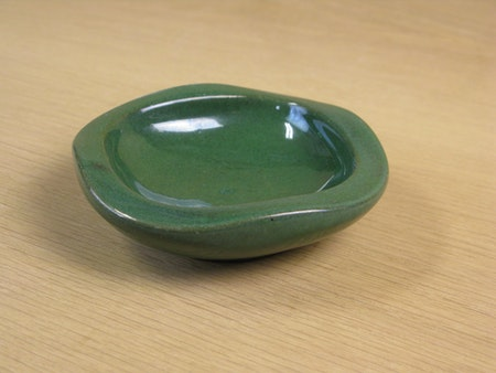 dark green ashtray 57