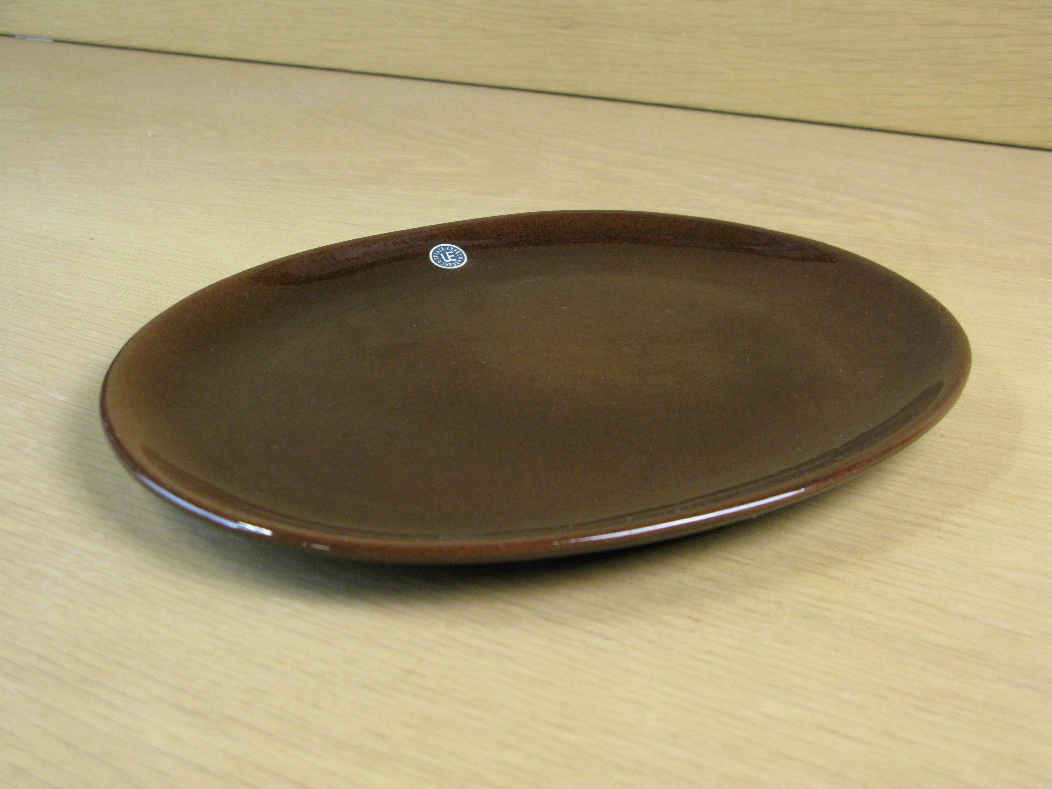 Brown plate argilla 2604