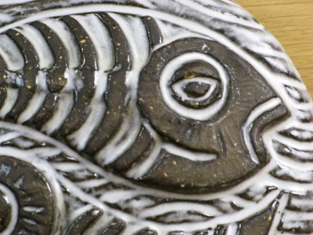 zodiac wall plate fishes 2