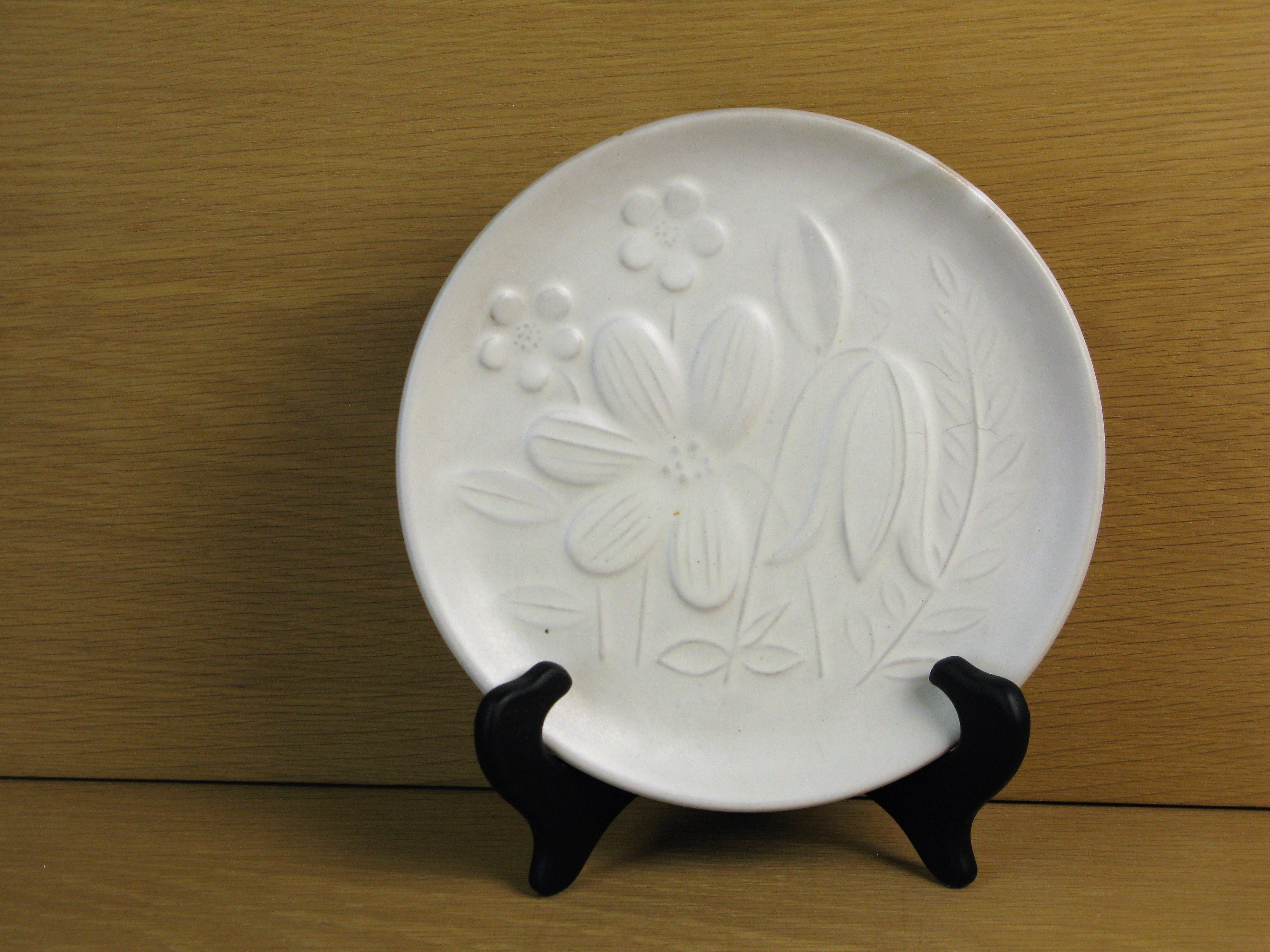 white small plate 18