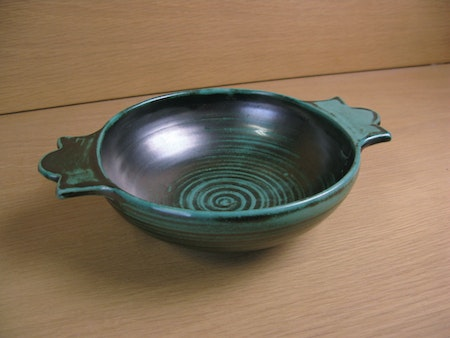 dark green bowl 2285
