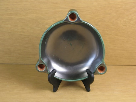 dark green candle bowl 1