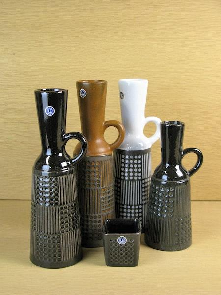 grey/black grafit vase 4563