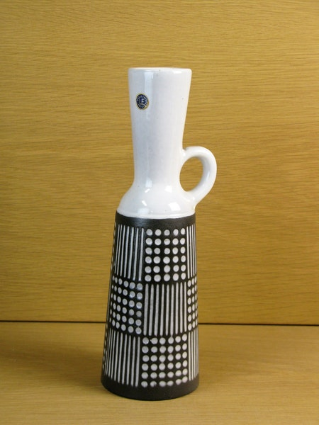 grey/white ruta vase 4564