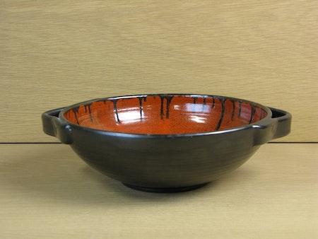 black/orange bowl 2275