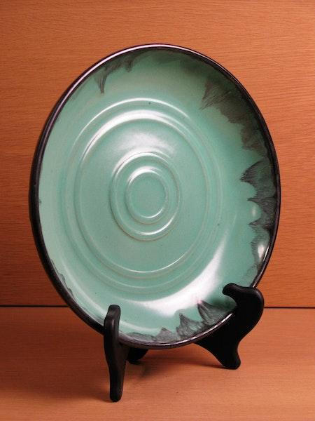 black/green bowl 3068