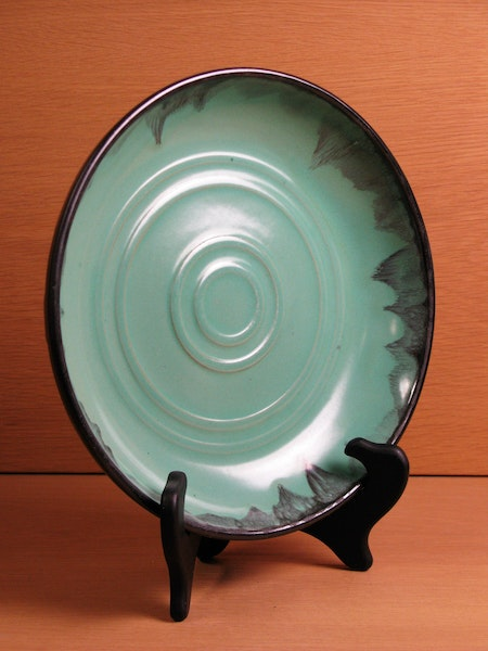 black/green bowl 3068