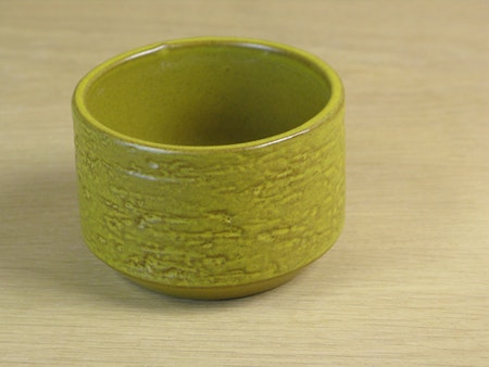 yellow tea sugar bowl 4115m sold
