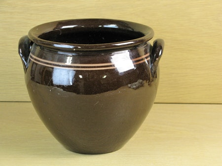 brown jar 2,5 liter