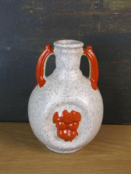 greyish/orange vase 1932