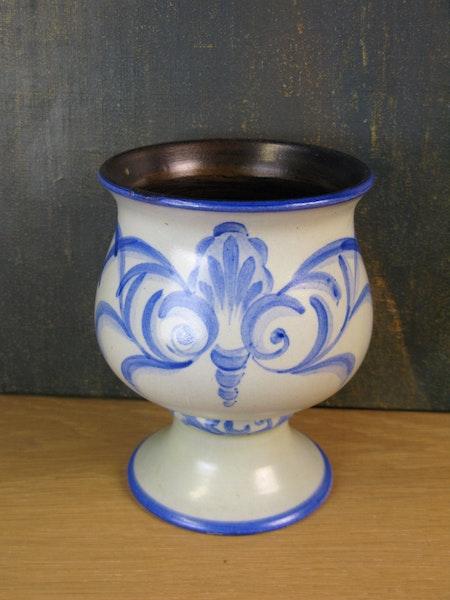 grey/blue bowl 1619