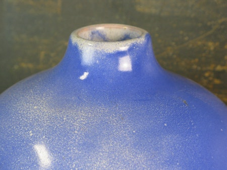 large blue expo vase 19