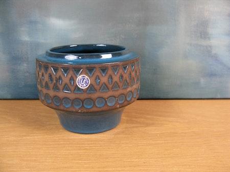 dark turquoise vase 7021m