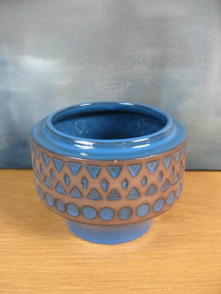 turquoise vase 7021m