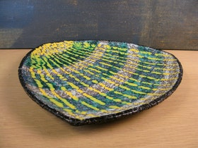 striped fiorella plate 2350