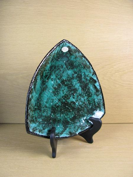 green fiorella plate 2349