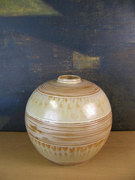 large vanilla vase 3154