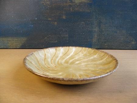 vanilla spiral bowl 3229