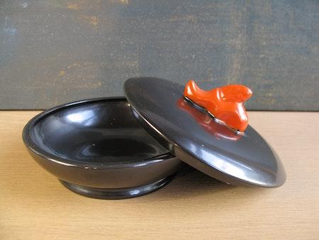 black/orange bonbonjär 2665