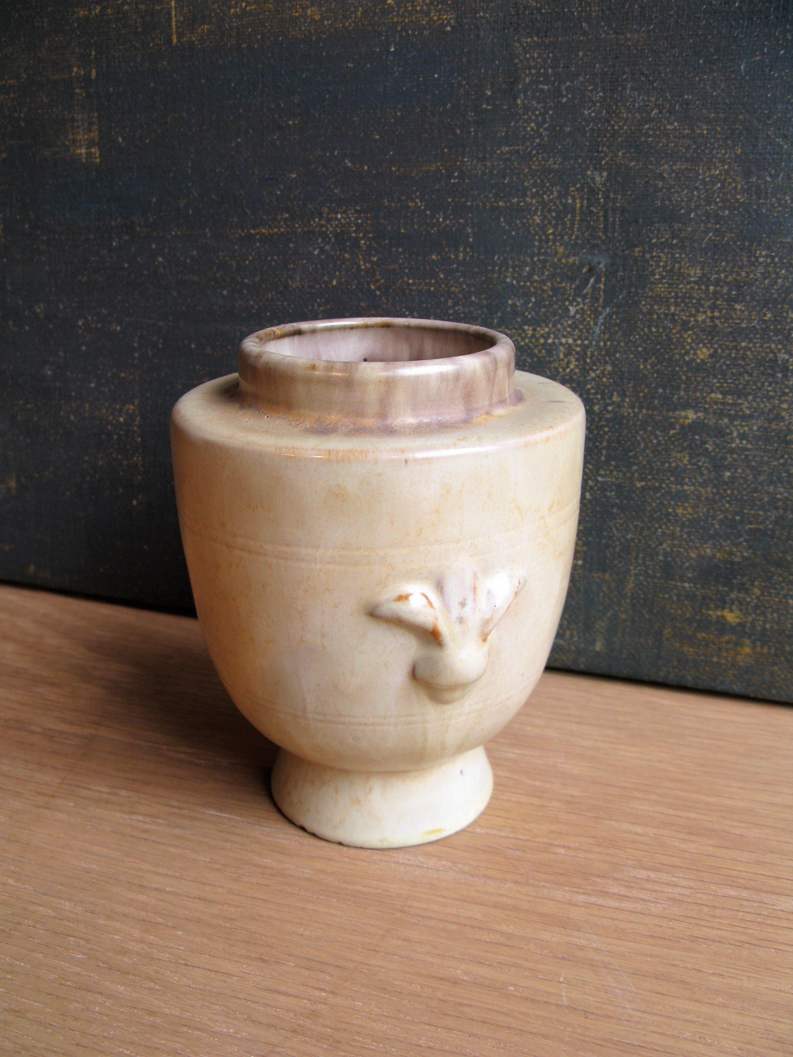 brownish vase 2653