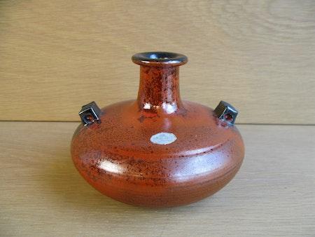 orange/black vase 3311